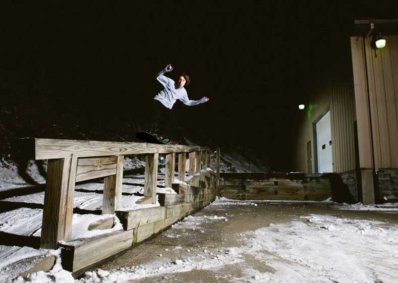 Jason Wisniewski Blank Snowboard Photo 2
